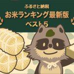 【2019年最新版】ふるさと納税お礼の品 お米ランキングベスト5位!