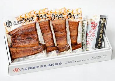 令和記念!浜名湖うなぎカット蒲焼詰合せ(約110g×4枚)
