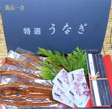 三河一色産大サイズうなぎ蒲焼4尾入り  イメージ