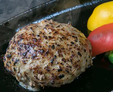 【創業60年】老舗肉屋の特上ハンバーグ10個 【寄付金額:15,000円】 イメージ