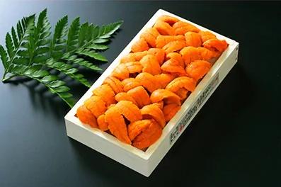 折詰蝦夷ばふんうに 100g×1枚 【寄付金額:10,000円】 イメージ