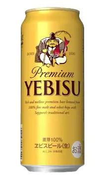 ヱビスビール定期便 仙台工場産(500ml×24本入を4回お届け) イメージ