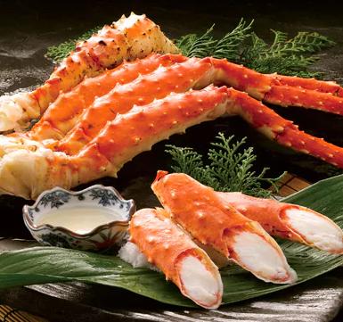 【超特大・極太5Lサイズ】本たらば蟹ボイル脚1kg イメージ