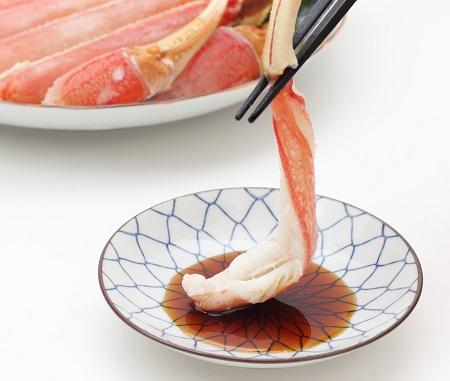 福井県敦賀市 【お刺身OK】楽天ランキング総合1位のカット生ずわい蟹700g イメージ