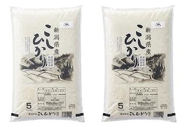 新潟県奥阿賀産こしひかり10kg