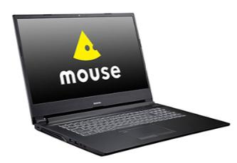 マウスコンピューター 大画面17.3型ノートPC「m-Book W890BN-M2S2-IIYAMA」