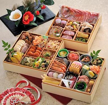 <2020年新春>金目鯛入り指宿三段重特製おせち(薩摩のたまて箱) イメージ