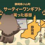 静岡県小山町のサーティワンギフト4000円分をふるさと納税で貰った感想