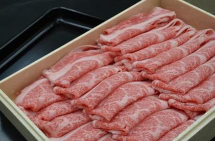 茨城県産牛肉 すきやき・しゃぶしゃぶ用700g