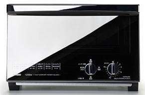 ふるさと納税家電還元率1位:ミラーガラスオーブントースター