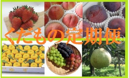 果物王国やまなし!くだもの定期便(年6回) イメージ