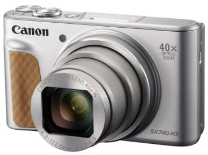 Canon PowerShot SX740 HS (シルバー ) ※受付終了 イメージ