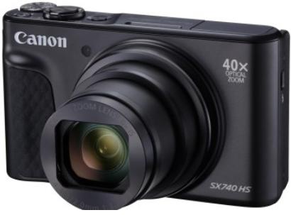 Canon PowerShot SX740 HS (ブラック ) ※受付終了 イメージ