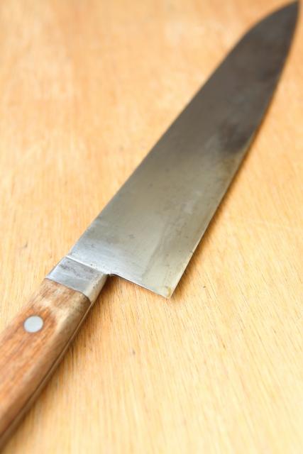 日本三大刃物【土佐打刃物】万能包丁「黒打万能包丁舟行型」
