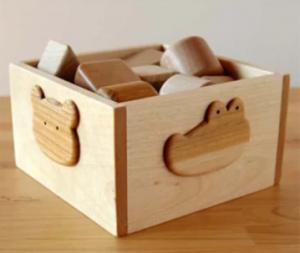 皇室ご愛用品 木のおもちゃ 赤ちゃんの積み木スペシャル イメージ