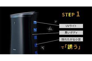 シャープ 蚊取り機能付き プラズマクラスター空気清浄機 FU-JK50-B(ブラック系)