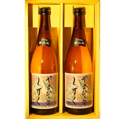 笹一酒造 純米 夢山水720ml×2本 イメージ