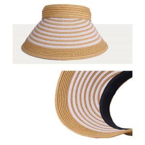 天然 クリップバイザー 婦人 帽子 寄付金額10,000円