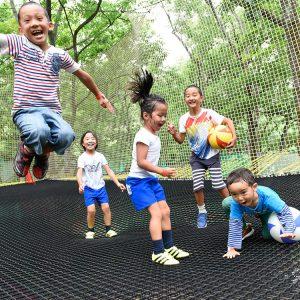 森の空中遊び パカブ 入場券5枚つづり 寄付金額34,000円