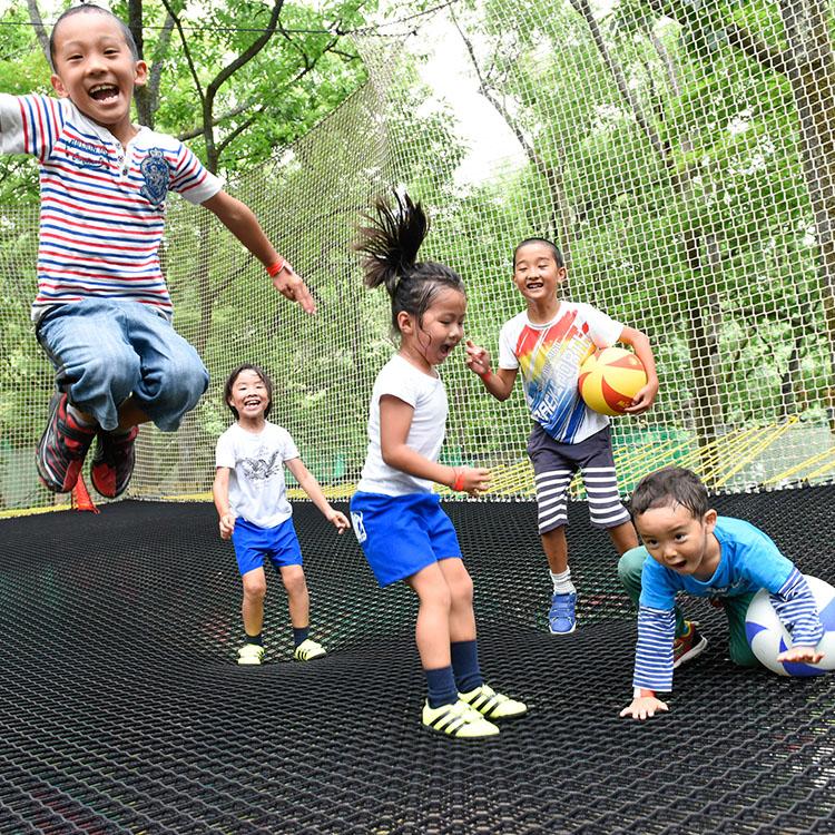 森の空中遊び パカブ 入場券5枚つづり 寄付金額34,000円 イメージ