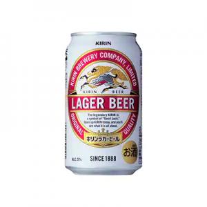 6位 福岡県朝倉市 キリンラガービール350ml×1ケース(24本)