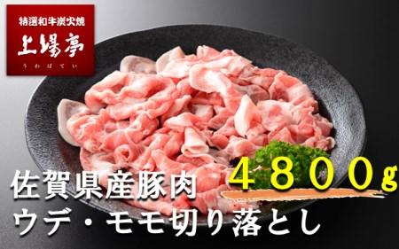 厳選佐賀県産豚肉(モモ・ウデ) 切り落とし イメージ