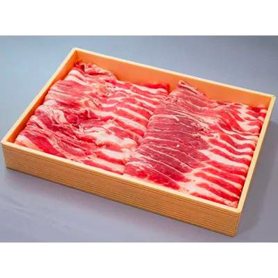 茨城県産ブランド豚ローズポーク焼肉・すき焼きセット 約600g 寄付金額6,000円 イメージ