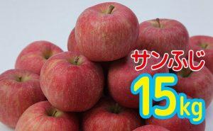 山形産りんご(サンふじ)15kg
