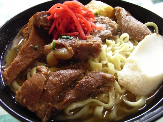 生沖縄そばソーキ4食セット 寄付金額 7,000円 イメージ