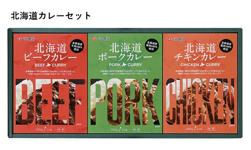北海道カレーセット 寄付金額10,000円