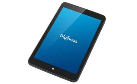 8インチタブレット サードウェーブ 「Diginnos DG-D08IW2SL」 イメージ