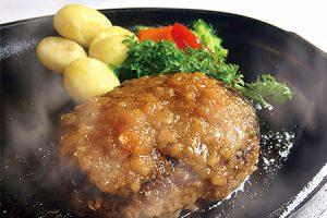 福岡県古賀市 【手ごね国産牛ハンバーグ(6個)】「MAIN DINING -Ichi-」シェフの手ごね国産牛ハンバーグ(株式会社博多ふくいち)
