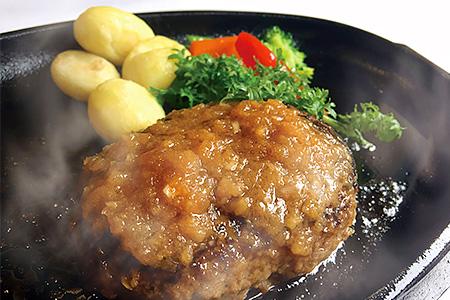 福岡県古賀市 【手ごね国産牛ハンバーグ(6個)】「MAIN DINING -Ichi-」シェフの手ごね国産牛ハンバーグ(株式会社博多ふくいち) イメージ