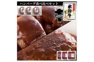 岐阜県可児市 飛騨牛ハンバーグ食べ比べセット 10,000円