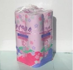 トイレットペーパー SEMかぐや姫 70m 96個 イメージ