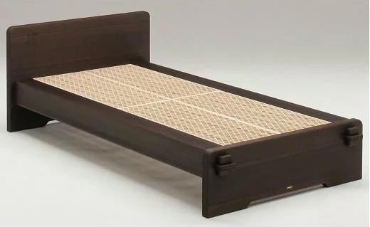 桐組子ベッド「あんばい」焼桐/シングル CE-0802r イメージ