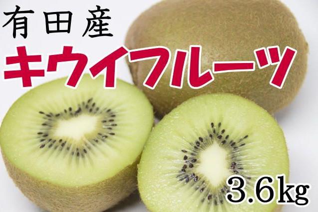 有田産キウイフルーツ約3.6kg(サイズおまかせ)   イメージ