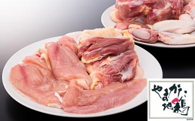 【大石田町産】やまがた地鶏(モモ・ムネ・手羽)セット  イメージ