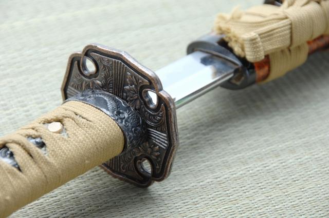 【美術刀剣】 御守刀(短刀)月山貞利作  イメージ