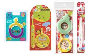 はじめてのベビー歯ブラシ4種セット 【雑貨・日用品・消耗品・ハブラシ・赤ちゃん用・口腔内ケア】