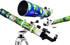 """天体望遠鏡サテライトポルタ アースシリーズ """"鮮やかな南米の大地"""
