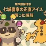 熊本県菊池市へのふるさと納税で七城農家の正直アイスの口コミ