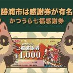 勝浦市のふるさと納税は家電ではなく感謝券が有名!